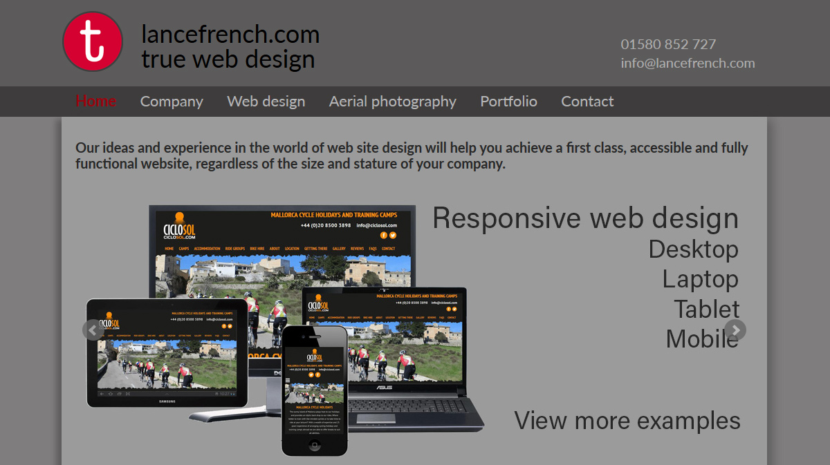 Kent Web Design - Lance French is an experienced web designer near ...